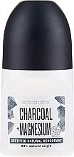"Parfémy, Parfumerie, kosmetika Kuličkový deodorant ""Uhlí"" - Schmidt's Carbon + Magnesium Deo Roll-On"