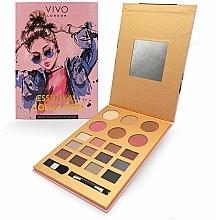 Parfémy, Parfumerie, kosmetika Paleta pro make-up - Vivo London Essential Collection Palette