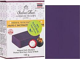 Parfémy, Parfumerie, kosmetika Mýdlo s extraktem ze stromů mangosteen - Sabai Thai Herbal Mangosteen Soap