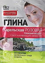 """Parfémy, Parfumerie, kosmetika Hlína na obličej a tělo """"Karelská"""", růžová - Fito Kosmetik"""