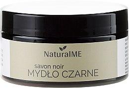 Parfémy, Parfumerie, kosmetika Přírodní černé mýdlo - NaturalME Black Soap Savon Noir