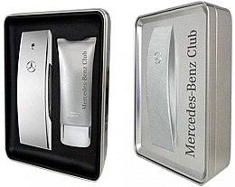 Parfémy, Parfumerie, kosmetika Mercedes-Benz Mercedes-Benz Club - Sada (edt/100ml + sh/gel/75ml)