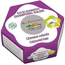 Parfémy, Parfumerie, kosmetika Tuhý bio šampon pro barvené vlasy - Ma Provence Solid Shampoo