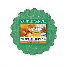 Parfémy, Parfumerie, kosmetika Vonný vosk - Yankee Candle Alfresco Afternoon