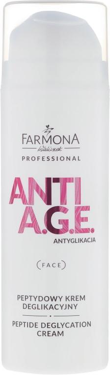 Anti-age peptidový krém na obličej - Farmona Professional Anti A.G.E Peptide Deglycation Cream