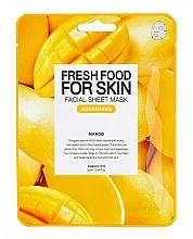 Parfémy, Parfumerie, kosmetika Plátýnková maska Mango - Superfood for Skin Farmskin Fresh Food Mango Mask
