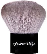 Parfémy, Parfumerie, kosmetika Kabuki štětec, 37368, šedý - Top Choice Fashion Design