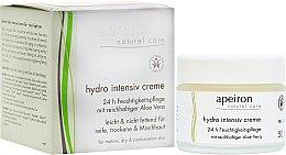 Parfémy, Parfumerie, kosmetika Intenzivně hydratační krém - Apeiron Hydro Intensiv Cream 24h
