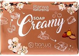 Parfémy, Parfumerie, kosmetika Krémové mýdlo s mandlovým olejem - Barwa Natural