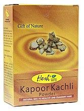 Parfémy, Parfumerie, kosmetika Prášková maska pro tenké a slabé vlasy - Hesh Kapoor Kachli Powder