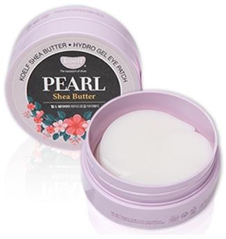 Hydrogelové náplasti pod oči s perlami a bambuckým máslem - Petitfee & Koelf Pearl & Shea Butter Eye Patch