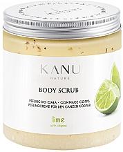 Parfémy, Parfumerie, kosmetika Tělový peeling Limetka - Kanu Nature Lime Body Scrub