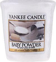 Parfémy, Parfumerie, kosmetika Aromatická svíčka - Yankee Candle Scented Votive Baby Powder