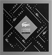 Parfémy, Parfumerie, kosmetika Lacoste L'Homme Timeless - Sada (edt/100ml + sh/gel/150ml)