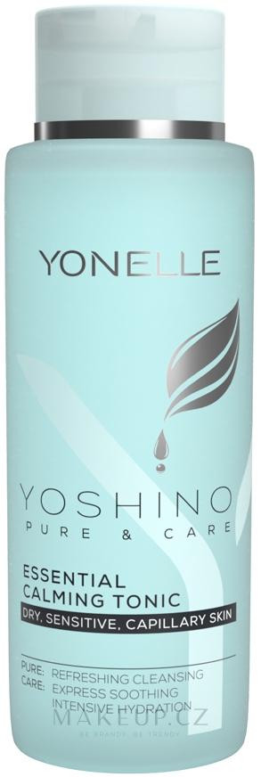 Uklidňující pleťové tonikum - Yonelle Yoshino Pure & Care Essential Calming Tonic — foto 400 ml