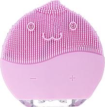 Parfémy, Parfumerie, kosmetika Čisticí kartáč na obličej, BR-030, růžový - Lewer Facial Cleansing Brush Pink