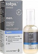 Parfémy, Parfumerie, kosmetika Hydratační gel na obličej - Tolpa Dermo Men Hydro Intensive Moisturising Gel