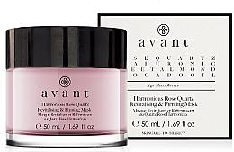 Parfémy, Parfumerie, kosmetika Regenerační a posilující pleťová maska - Avant Harmonious Rose Quartz Revitalising & Firming Mask