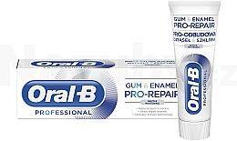 Parfémy, Parfumerie, kosmetika Zubní pasta - Oral-B Professional Gum & Enamel Pro-Repair Gentle Whitening