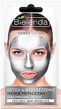 Parfémy, Parfumerie, kosmetika Detoxová maska pro mastnou a kombinovanou pleť - Bielenda Silver Detox Metallic Mask