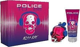 Parfémy, Parfumerie, kosmetika Police To Be Miss Beat - Sada (edp/75ml + b/lot/100ml)