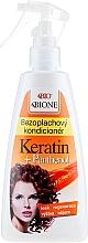 Parfémy, Parfumerie, kosmetika Bezoplachový kondacaonér na vlasy - Bione Cosmetics Keratin + Panthenol Leave-in Conditioner