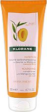 Parfémy, Parfumerie, kosmetika Kondicionér na vlasy - Klorane Nourishing Conditioner With Mango Butter