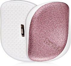 Parfémy, Parfumerie, kosmetika Kompaktní kartáč na vlasy - Tangle Teezer Compact Styler Glitter Rose