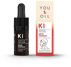 Parfémy, Parfumerie, kosmetika Směs esenciálních olejů - You & Oil KI-Skin Fungus Touch Of Welness Essential Oil