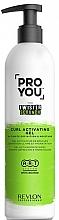 Parfémy, Parfumerie, kosmetika Aktivační gel na tvarování loknů - Revlon Professional Pro You The Twister Scrunch Curl Activator Gel