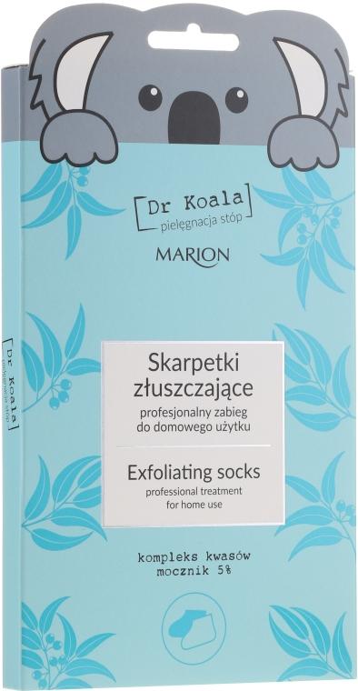 Exfoliační maska-ponozky na nohy - Marion Dr Koala Exfoliating Socks