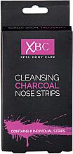 Parfémy, Parfumerie, kosmetika Čisticí proužky na nos s uhlím - Xpel Marketing Ltd Body Care Cleansing Charcoal Nose Strips