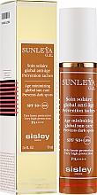 Parfémy, Parfumerie, kosmetika Změkčující krém - Sisley Sunleya G.E. Age Minimizing Global Sun Care SPF 50/PA+++