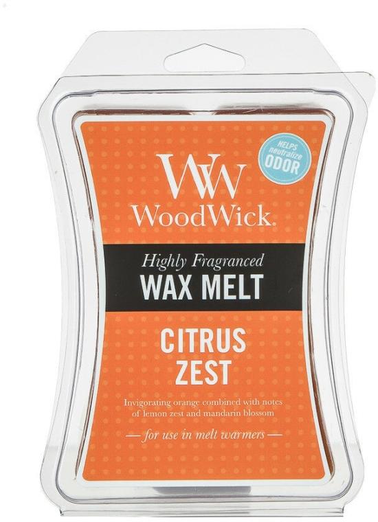 Vonný vosk v kostkách - WoodWick Wax Melt Cubes Citrus Zest — foto N2