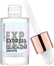 Parfémy, Parfumerie, kosmetika Kapky pro urychlení schnutí laku na nehty - Catrice Express Quick Dry Drops