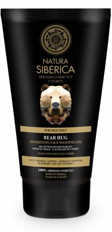 """Probuzující čisticí gel """"Bear Hug"""" - Natura Siberica For Men Bear Hug Awakening Face Washing Gel — foto N1"""