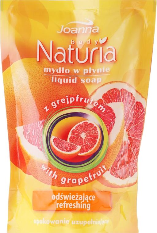 "Tekuté mýdlo ""Grapefruit"" - Joanna Naturia Body Grapefruit Liquid Soap (Refill)"