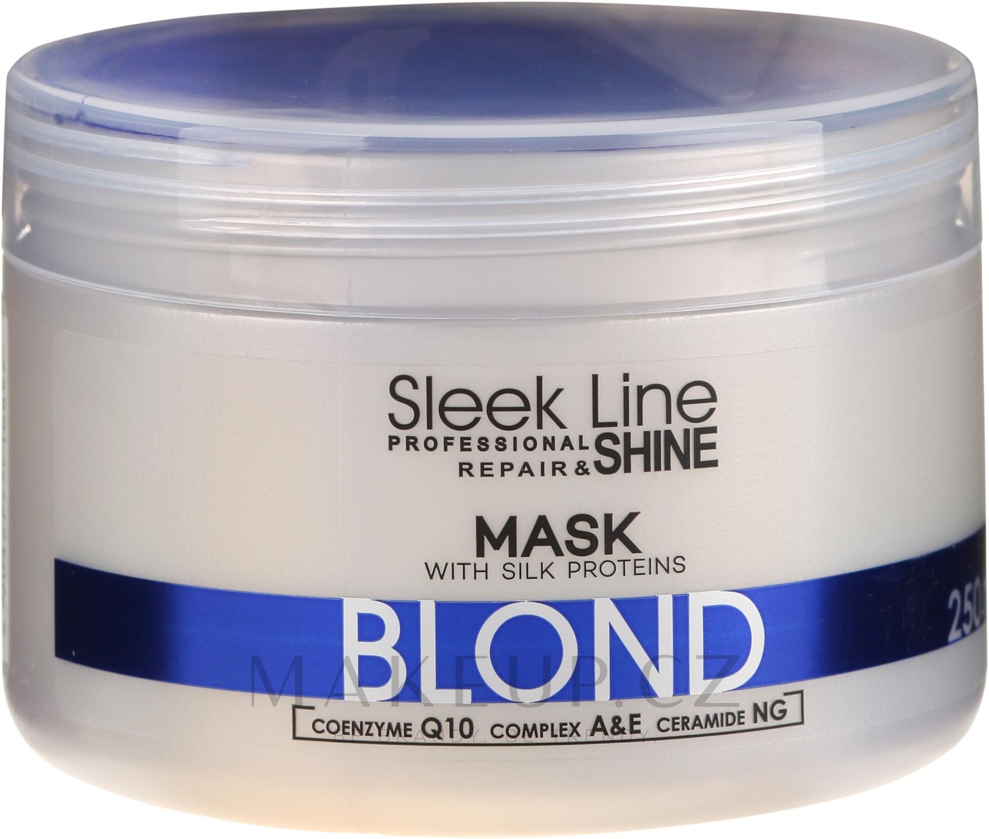 Maska na vlasy - Stapiz Sleek Line Blond Hair Mask — foto 250 ml