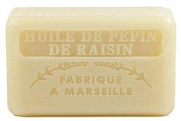 Parfémy, Parfumerie, kosmetika Marseilleské mýdlo s olejem hroznových pecek - Foufour Savonnette Marseillaise Huile de Pepin de Raisin