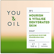 Parfémy, Parfumerie, kosmetika Vyživující mýdlo pro dehydratovanou pokožku - You & Oil Nourishing Soap for Dehydrated Skin