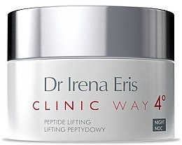 Parfémy, Parfumerie, kosmetika Noční krém «Peptide lifting» - Dr Irena Eris Clinic Way 4 Peptide Lifting