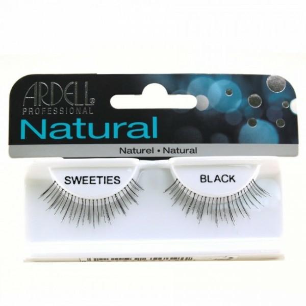Umělé řasy - Ardell Natural Sweeties Black — foto N1