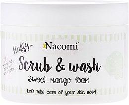 "Parfémy, Parfumerie, kosmetika Čisticí peeling-pěna ""Mango"" - Nacomi Scrub and Wash Sweet Mango Foam"