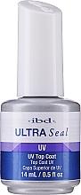 Parfémy, Parfumerie, kosmetika Vrchní ochranná vrstva na gely a akryly - IBD Ultra Seal Clear