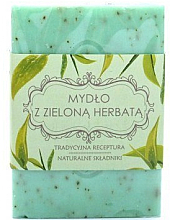 Parfémy, Parfumerie, kosmetika Mýdlo Zelený čaj - Scandia Cosmetics