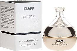 Parfémy, Parfumerie, kosmetika Oční krém pro zralou pleť - Klapp Silk Code Eye Contour Cream