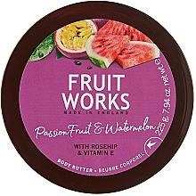 Parfémy, Parfumerie, kosmetika Tělový olej Marakuja a meloun - Grace Cole Fruit Works Body Butter