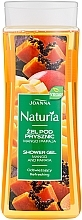 "Parfémy, Parfumerie, kosmetika Sprchový gel ""Mango a papája"" - Joanna Naturia Mango and Papaya Shower Gel"