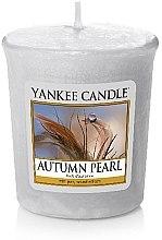Parfémy, Parfumerie, kosmetika Aromatická svíčka - Yankee Candle Scented Votive Autumn Pearl