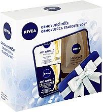Parfémy, Parfumerie, kosmetika Sada - Nivea Anti-Wrinkle Revitalizing Set (day/cr/50ml+night/cr/50ml+micel/water/200ml)